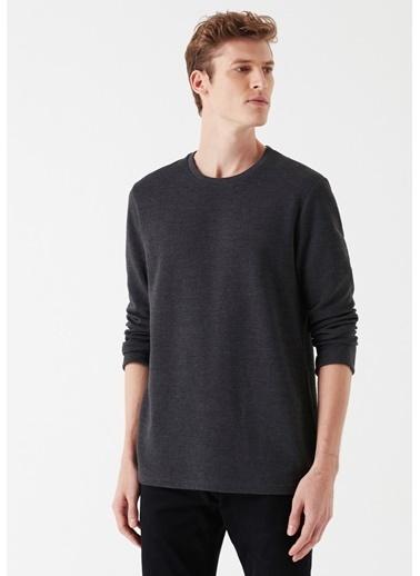 Mavi Basic Sweatshirt Antrasit